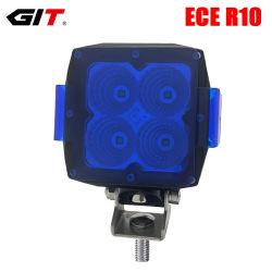 """Emark 12V/24V 4"""" carré de 40W Osram LED pour le tracteur phare de travail chariot voiture Offroad 4X4"""