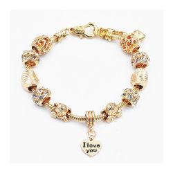 Schmucksache-Inner-Charme-Armband-u. Armband-Glasraupe-Frauen-Armbänder der Form-DIY für Frauen-Geschenk