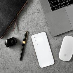 Draagbare Lader Drie van de Bank 10000mAh van de macht Output USB met LEIDEN Licht
