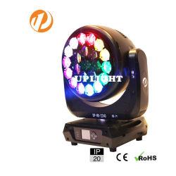 2020년 LED 22*40W RGBW 광속 이동하는 맨 위 직업적인 쇼 점화