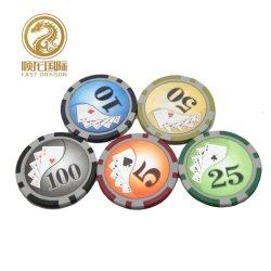 13,5g arcilla Poker Chip con adhesivo (DRA GB1006)