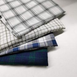 Tejido de lino 100% francesa Plain teñido de tejido de lino puro para hilados de pantalones holgados 14*14
