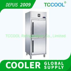 Congelatore in acciaio inox conservazione di prodotti congelati