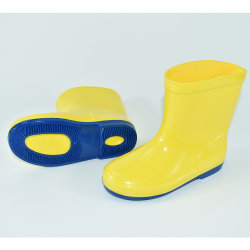 Duidelijke Kleur van de Laarzen/de Schoenen van de Regen voor Kinderen