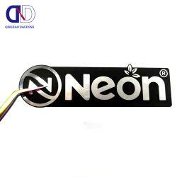 جهة التصنيع إنتاج مخصص من الألومنيوم تزوير بطاقات لاصقة معدنية