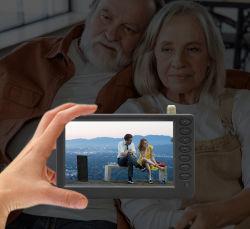 Pocket TV 5pouces LED de l'écran Taille Mini Car TV tenue dans la paume de la télévision portable Mini Affichage LED TFT de la télévision numérique multimédia TV analogique