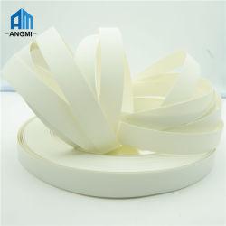 El alto grado de color sólido de cinta de cantos de PVC blanco
