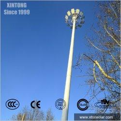 IP65 70ft 80FT 90ft 15m 1500W 1200W 300W 400W 방수 야외 조절식 태양광 LED 플러드 하이 마스트 조명과 폴 공항 스포츠 경기장으로