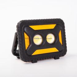 Bewegliches nachladbares LED-Arbeits-Licht für die Job-Site, welche die im Freien kampierende wandernde Auto-Reparatur und PAS-Notmodus beleuchtet