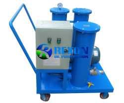 Portátil de tamaño pequeño de filtración de aceite de máquina para llenado de aceite y el reciclaje de residuos de petróleo