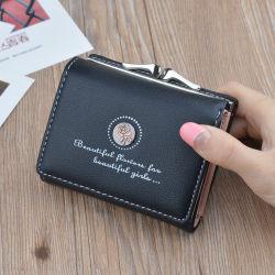 """محفظة نسائية عادية جديدة عالية الجودة أزياء ماركة سيدة"""" S مصنع مصنعي المعدات الأصلية لحامل البطاقات المصنوعة يدويًا"""