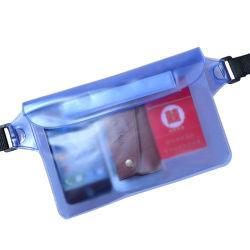 accesorios para teléfonos móviles resistentes al agua caso Teléfono Teléfono impermeable bolsa con el logotipo personalizado