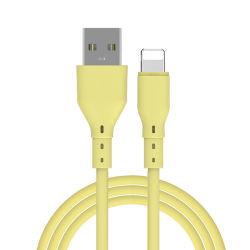 ملحق شاحن الهاتف المحمول الشحن السريع العام بيانات USB كابل iPhone مع مادة TPE