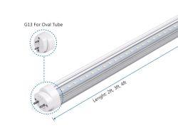 El mejor precio del tubo LED T8 de 1200mm 4FT 1500 mm 5FT 18W 20W 25W 2700-7000K G13 Tubo Fluorescente LED de iluminación LED Lámpara LED integrado de tubo