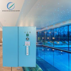 16g/h generador de ozono para tratamiento de agua de purificación de la piscina Ozonizer máquina sin filtro