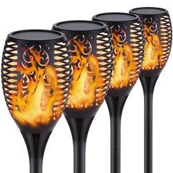 Impermeabilizzare la lampada solare del giardino dei 96 LED con le fiamme realistiche