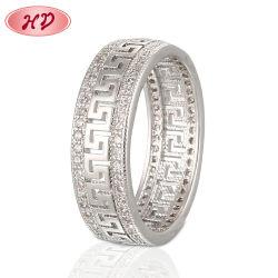 18K 14K or plaqué argent en acier inoxydable de mariage de la mode HOMME Bijoux Bagues doigt de la mission de conception