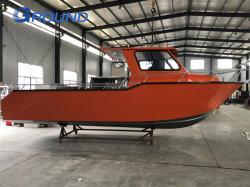 8,5 m 28FT volledig gelaste gesloten cabine-aluminium legering commerciële visserij Boot