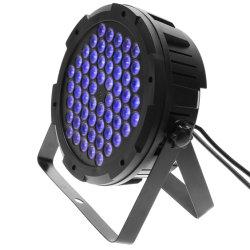 Carcasa de plástico 60 3in1 de 1,5 W LED RGB LED luces PAR