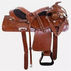 Hochwertige Pferd Sattel Pad Premium Leder Pferd Western Sattel