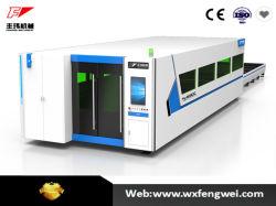 Оптическое волокно Double-Pallet лазерная резка машины для обработки листа металла