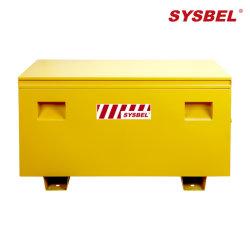 Mobile Sicherheitsbox für Produktionswerkzeuge, industrieller Einsatz, gelb (WA940101)