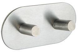 Adhesivo de acero inoxidable Percheros Perchero de hardware para la decoración del hogar