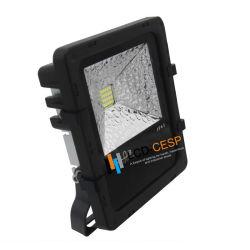 Projecteur à LED SMD LED IP653030puces avec lampe à LED 20W à LED CMS d'éclairage extérieur 50W de sortie élevé Portable multi-LED de couleur des projecteurs d'éclairage LED rechargeable