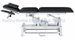 工場価格の病院のクリニックの美容院のマッサージの携帯用Foldable調節可能で忍耐強い電気油圧手動移動式検査表かCounchまたはベッド
