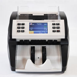 Bank-Bargeld-Geld, das Maschinen-Barwert-Mischanmerkungs-Kostenzähler zählt