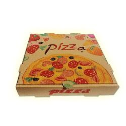 Pizza Box Custom Food Carton Pizza Pattern Custom Takeaway Packaging Carton