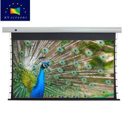 Schermo di proiezione motorizzato di Alr del diamante nero di Tabulazione-Tensionamento di Xyscreen 80-105 ''