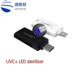 UVC Mini Micro Instant Glass Bead sterilisator draagbare LED UV Mobiele sterilisator efficiënte oppervlaktesterilisatie