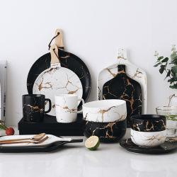 Factory Direct China Groothandel keramische platen Restaurant porselein Diner Noodle Soepbord