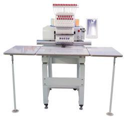 La tapa y la única cabeza Tshirt y máquina de bordado plano proveedor de maquinaria textil en China