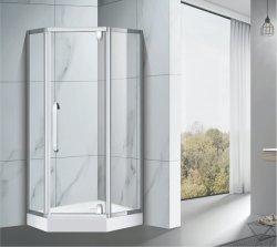 304 316 Hotel Alloy Prepreted Tempered Glass 전체 장치 캐빈 디자인 욕실 샤워 룸