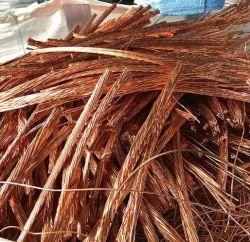 グレード A 銅スクラップ金属スクラップ銅金属スカーフ最小 99.99%