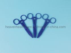 Médicos estériles desechables hemostático pinzas de plástico