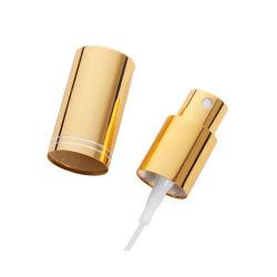 Gouden Nevel GLB voor de Spuitbus van de Mist van de Fles van het Glas van de Hals van 18mm voor Pomp van de Nevel van de Mist van het Parfum van het Aluminium van het Parfum de Gouden Fijne met GLB
