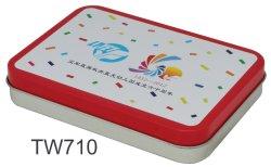 presente de promoção Caixa de estanho Caixa adorável para crianças/Kidstin Caixa de Armazenamento
