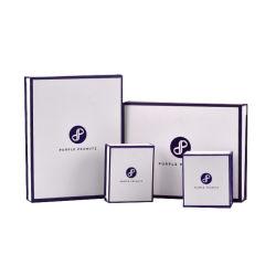 Design personalizado jóias magnético da caixa de embalagem para anel o bracelete Colar Definir brinco