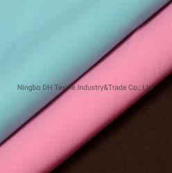 中国の製造業者のワイシャツのユニフォームのためのTcによって染められるポプリンファブリックTela