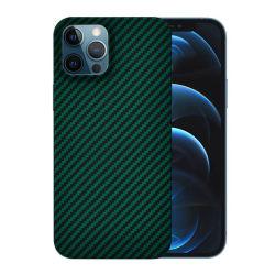 IPhone 12 PRO Max nuovo colore verde fibra aramidica personalizzata Custodia per cellulare