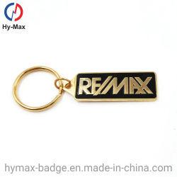 Portas lacadas de elevada qualidade Chaveiro de metal com letra personalizáveis chaveiro para a venda de loja
