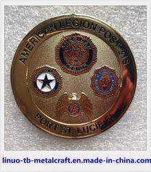 프로모션 선물 판매 주문 경찰 배지 군사 도전 코인