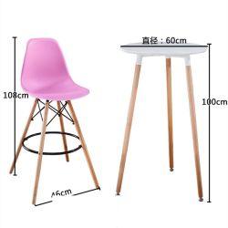 Mesa De Redonda PARA FIESTAS Mesa Muebles de Salón Bar barra blanca baratos Mini Mesa Redonda de un espacio pequeño parte de la tabla de barras