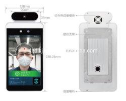 Face Recognition 8-дюймовый ЖК-экран с измерение температуры