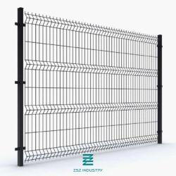 Sicherheitszaun geschweißtes Fechten des Maschendraht-Zaun-Panel-3D