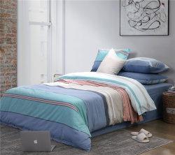 Best Seller Cinco Estrellas hotel 100% algodón conjunto de ropa de cama en el hogar Conjunto de hojas