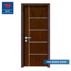 مدخل داخلى يفتح الأبواب الخشبية الصلبة المقاومة للحريق بفندق النار الأبواب الخشبية المصنفة مع شهادة